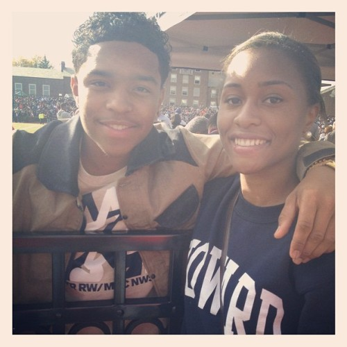 ikidphreshh:  Me and Justin Dior (Diddy's Son)