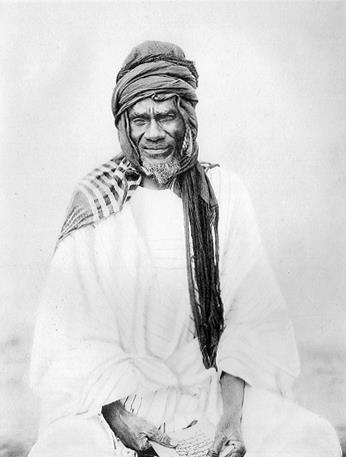 Samory Touré (born in 1830) was a military leader who founded a powerful kingdom in West Africa and resisted French colonial expansion in the late 19th century. He died while in captivity in 1900. Unfortunately, I couldn't find much information about locs in that time or in that particular culture, but I thought I was still share. You can read more about him here: http://www.blackpast.org/?q=gah/toure-samori-1830-1900