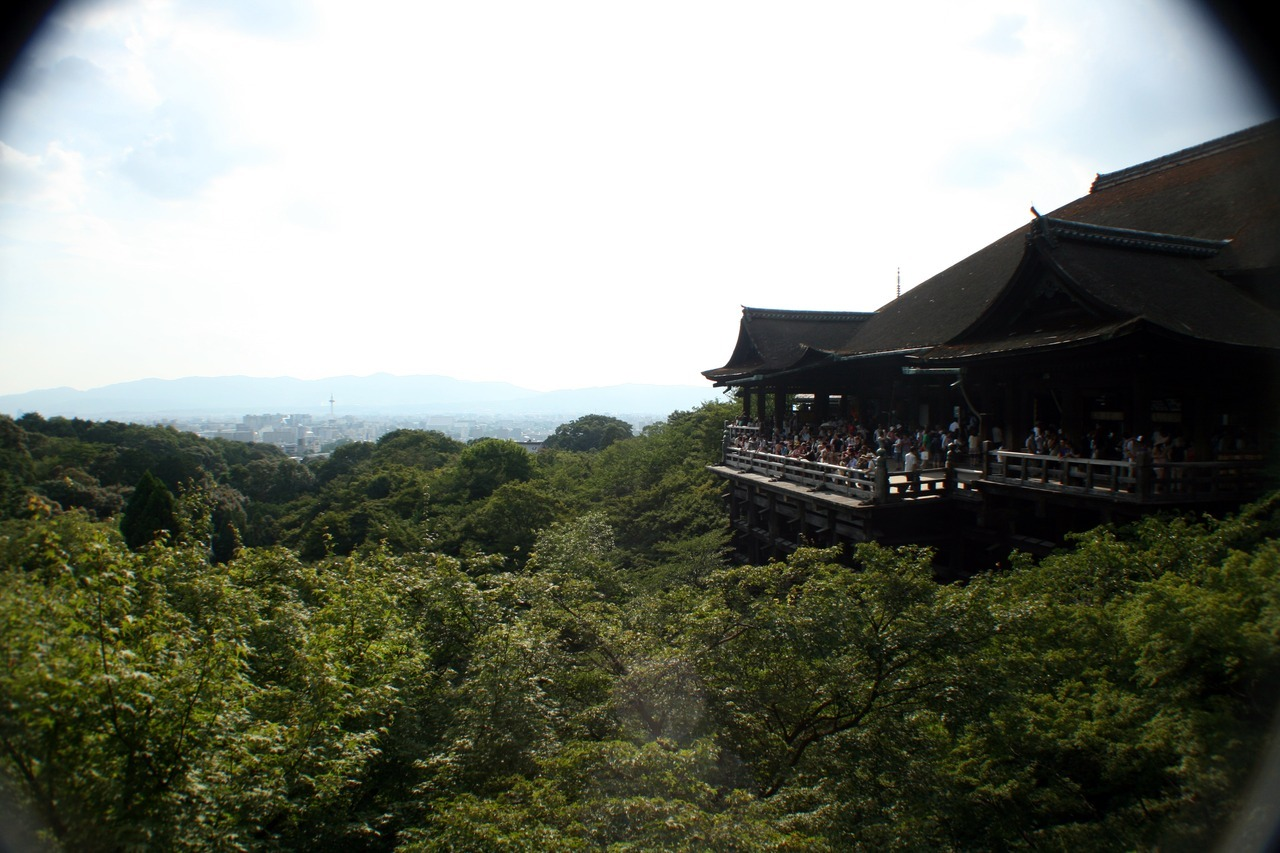 Kiyomizu-dera, Kyoto, Japan - August 11th, 2012