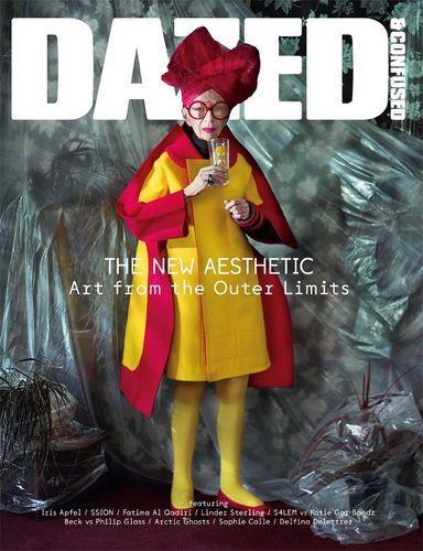 Dazed & Confused November 2012 Iris Apfel by Jeff Bark