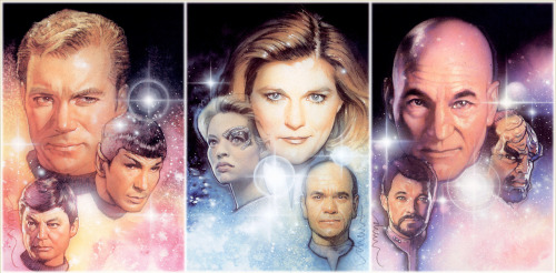 Star Trek by Drew Struzan