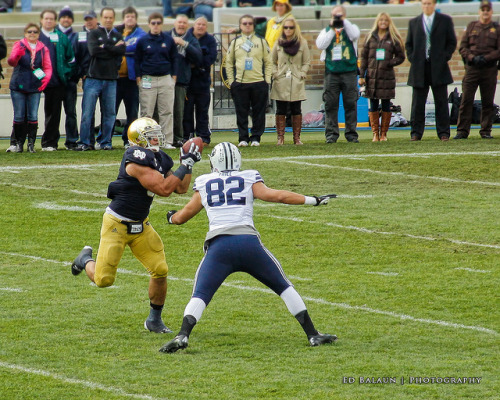 Manti Te'o Interception! by Ed (supergolfdude) on Flickr.