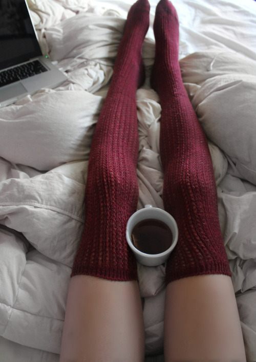fluentlymeowing:  i want these knee high socks!!