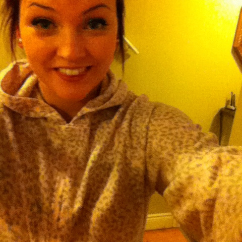 My mom bought me footy pajamas ! :D I've always wanted a pair ! For realzz :)