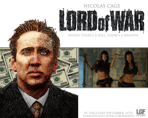 Lord Of War (2005) Pros: Nicolas Cage is one of those actors who seems to fall between some moments of brilliance (or at least manic achievement) as in 'Leaving Las Vegas' or 'Moonstruck', then falling into the pitfalls of caricature (as seen in 'Captain Corelli's Mandolin'). Thankfully in 'Lord Of war' he veers towards the former end of his acting spectrum, and as the central character his Ukrainian gun runner Yuri Orlov he delivers exactly what is needed. There is an amoral, hustling show-pony vibe to the portrayal that also has all the right undertones of cynicism for such a problematic persona. The minor romantic plot line that develops in the movie is there to underscore Cage/Orlov as the efficient, manipulative salesman of death. The humour is sufficiently black and satirical to convey the message of the movie (i.e. the darkly complex political and moral responsibility for the shipment of weapons on a massive scale to all manner of despots etc). This comic thread slowly dries up till in what is arguably the most important part of the film Cage's character has to decide what is more important; money and survival or his morality and his brother. Cons: The supporting cast are somewhat under-utilized, with Jared Leto's Vitaly (brother of Yuri) the prime 'victim' of what is effectively Cage's domination of the film. There is a more compelling dynamic between the two characters that doesn't quite get the air it needs. The same can be said for Bridget Moynihan's role as Cage's love interest; she is almost like a bland sheet of white wallpaper for Cage's characterization to stand in stark (and far more interesting) relief against. Ian Holm is wasted and Eamonn Walker's Liberian dictator is a shadow of a more impressive (and similar) role for Forrest Whittaker in 'The Last King Of Scotland'. The political message of the movie, that major powers (especially the US) encourage and facilitate both the arms trade and the ongoing cruelties of third world terrorists, despots etc seems a little too easy a conclusion. Those that are the buyers don't get off scot-free in the film however 'Lord Of War' effectively says that 'evil prevails' and it will always be an opportunity exploited by the sellers of weapons. More of the film's concept of the burden of responsibility needs to be sheeted home to those who use the weapons, who commit the massacres, who sell the blood diamonds. There is almost a western sense of guilt denying non-western barbarity behind the movie's message, equating capitalism, wealth and political power with the killings, not the despots, the dictators, the warlords. Final Rating:  3 out of 5 Bill Collins