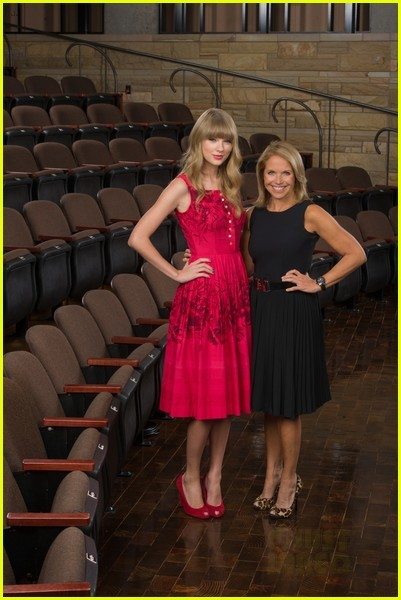 Taylor Swift & Katie Couric