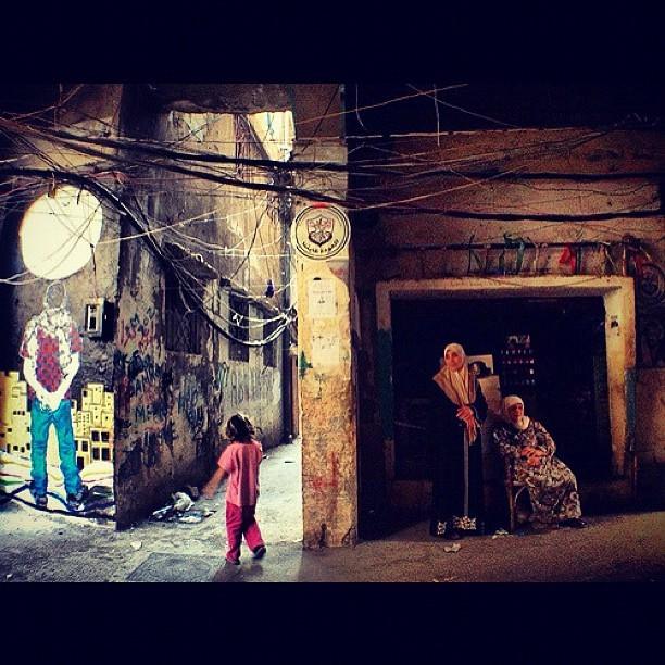 #Shatila Refugee Camp September 2012 @btsmap #Lebanon #Palestine #Handala