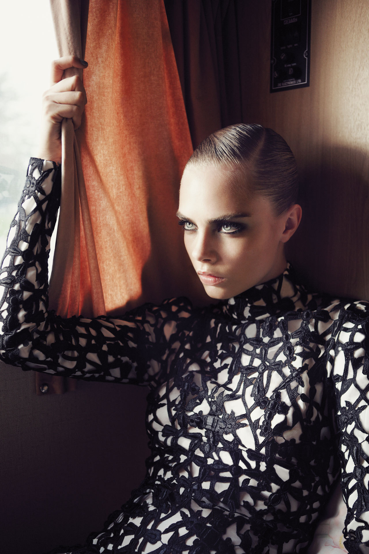Cara Delevingne photographed by Glen Luchford for Vogue UK, November 2012