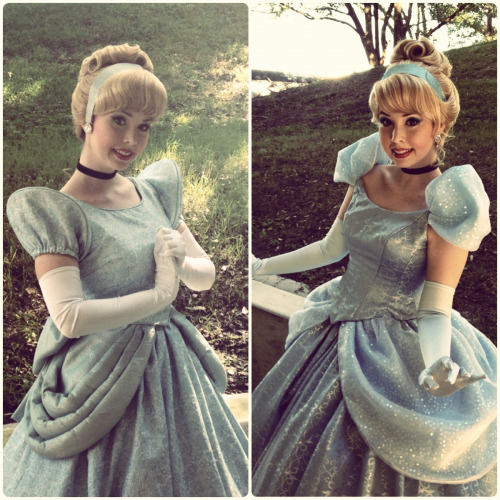 have-perspective:  Cinderella before & after her transformation.