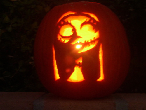 Watching Nightmare right now.  Craved this pumpkin like 9 yrs ago.Thought I'd share