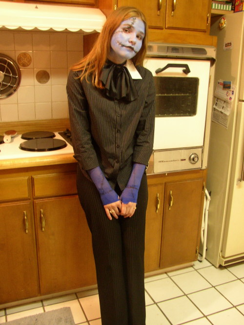 Seriously, I've been nightmare obsessed since I was 7.  For Halloween 2003, I went as a combination of Jack & Sally (their off spring or something).  It's like I was writing fanfiction even back then ^_~
