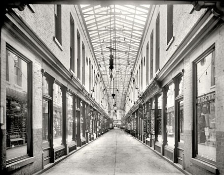 The Arcade, Cincinnati (1905 (via Shorpy arcades)