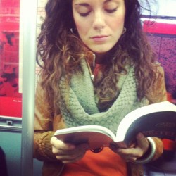 Pretty-piercing reader #metroreaders