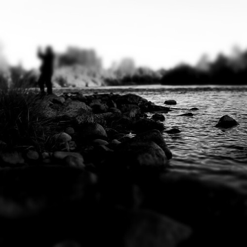 #tilt #blackandwhite #river #fall