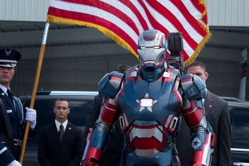 IRON PATRIOT in IRON MAN 3