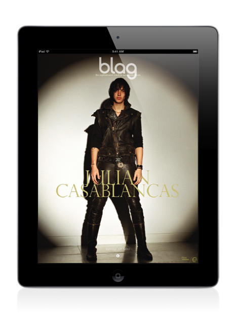 2012 | BLAG Deluxe App Sally is currently designing a new Deluxe App for the 20th Anniversary for iPad, iPhone and Android with lots of new yet-to-be-seen content, animations and films. Designed twice for a completely different experience in horizontal and vertical. Stay tuned for updates. Think of this as the DVD with special features and extras for the printed Collectors Edition. Price for iPad will be £2.99 and $4.99 (US) Here's some shots of the previous one, available via iTunes for iPad.