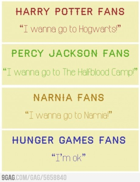 9gag:  Different Fans
