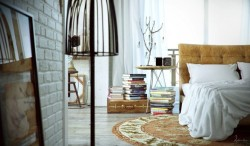 homedesigning:  Industrial Bedroom