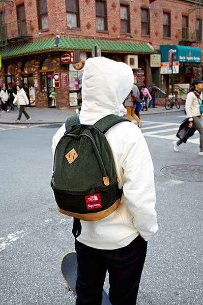 The new Supreme x The North Face winter 2012 collection