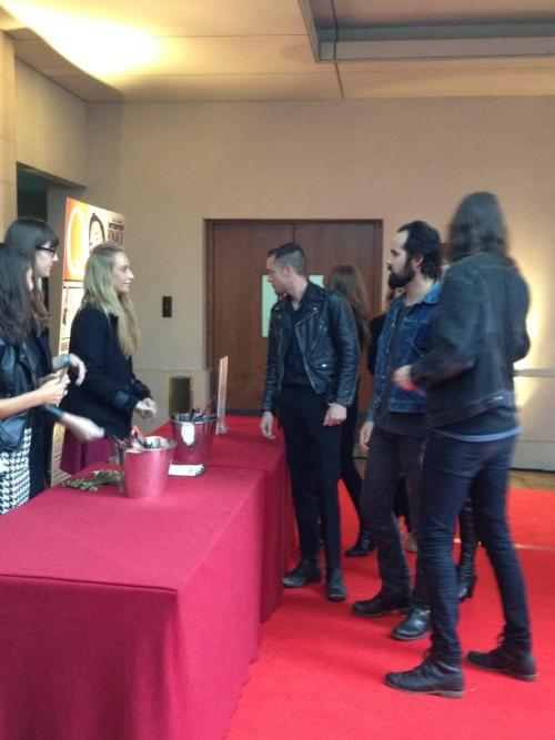 The Killers at the Q Awards 2012