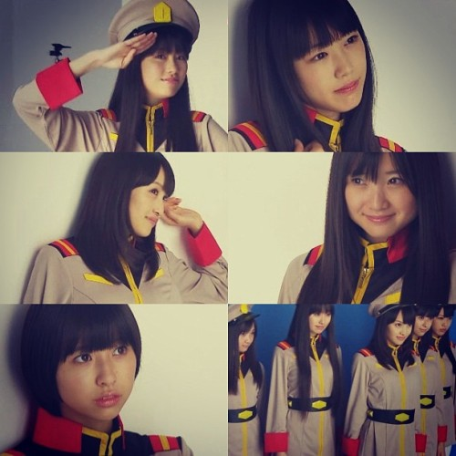 momoclo-bot:  .@nobuasnka | ガンダム?×ももクロ | Webstagram - the best Instagram viewer