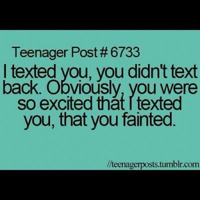 #teenagepost #funny #meme #funnymeme #texts #fainted #excited