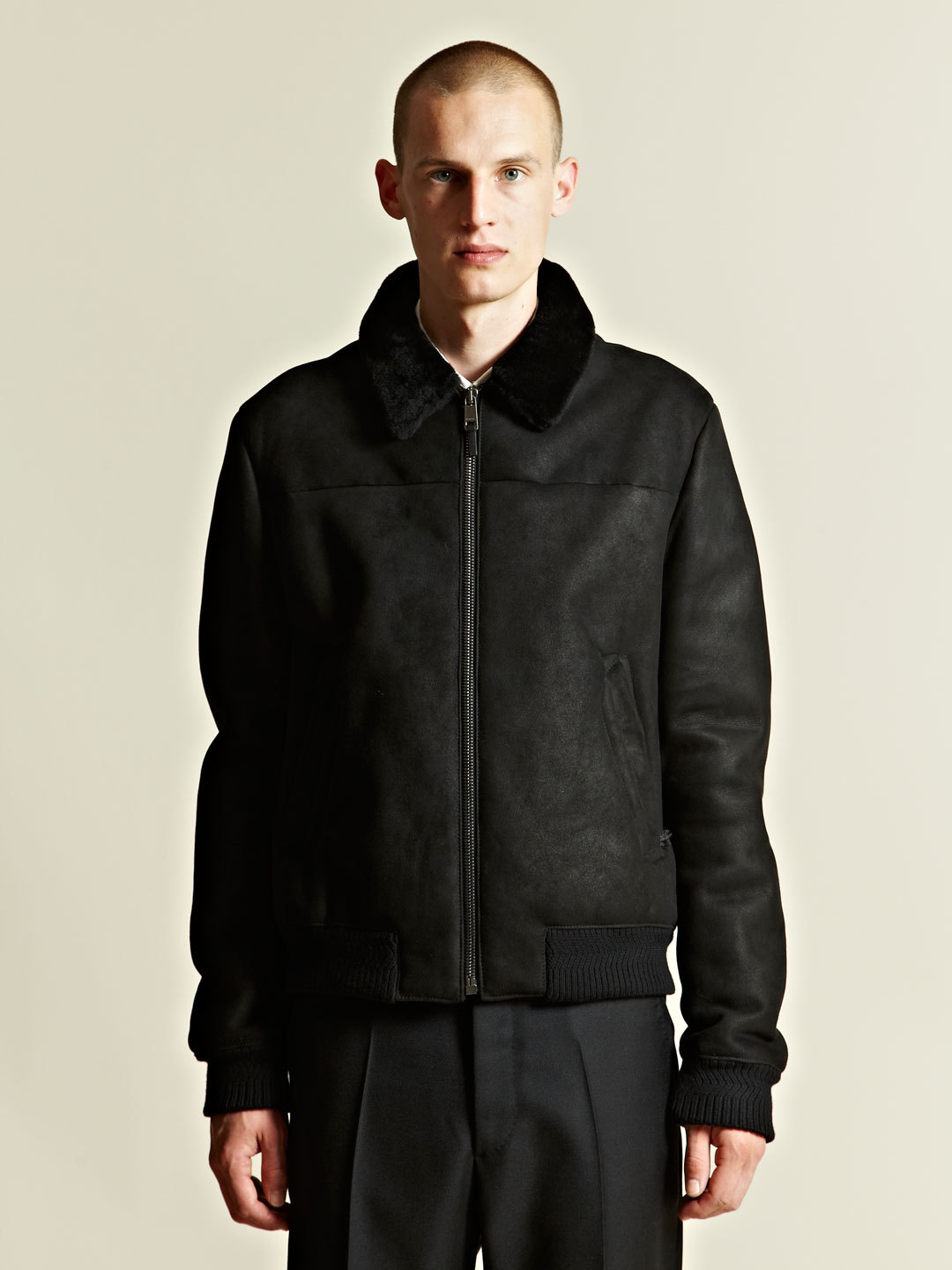 Jil Sander Suede Flight Jacket