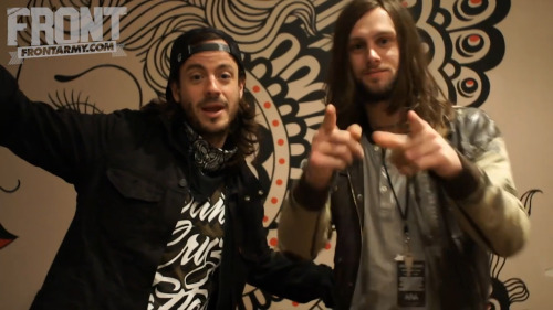 Liam and Loz of While She Sleeps interviewed each other for this exclusive video for Front. Full video here.