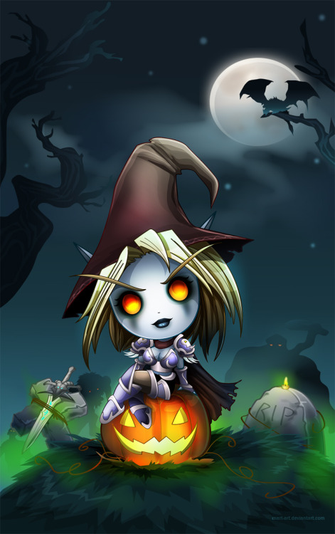 cannibalizeme:  forsakens halloween by ~mart-art