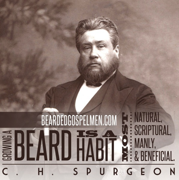 If Spurgeon said it, then it must be true.