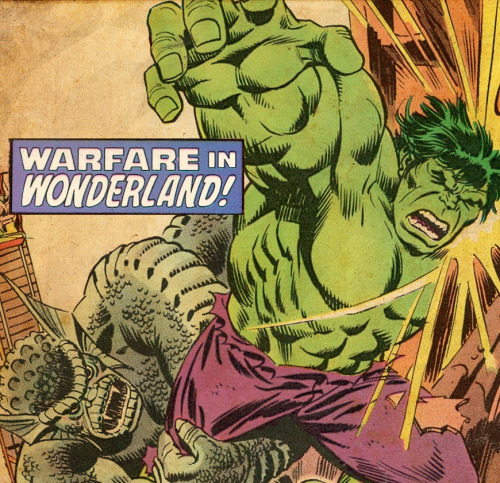 The Incredible Hulk Battles The Abomination By Sal Buscema