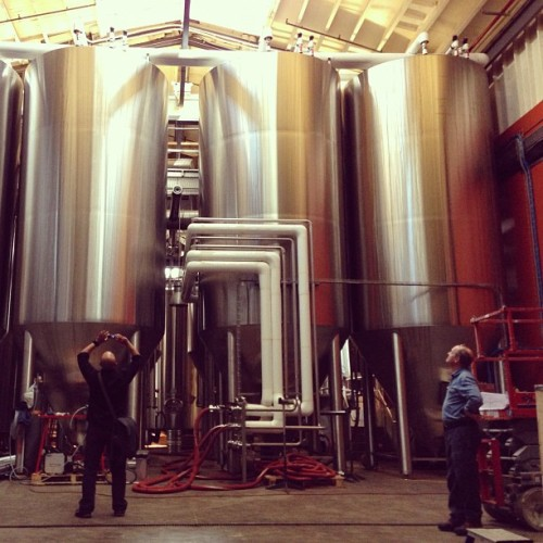 Beer-cubators (at Brooklyn Brewery)