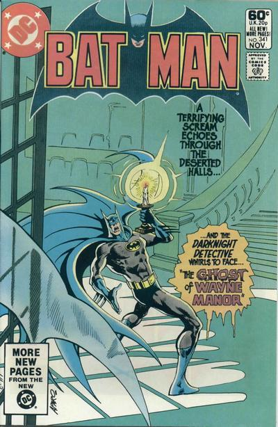 31 Days of Halloween: Day 18: Batman, issue 341. I like when Batman meets ghosts.