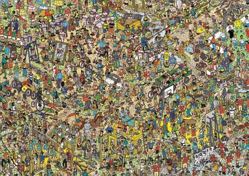 Steven Gerrard immortalised in England Where's Wally? scene  Steven Gerrard and his England team-mates have often been accused of going missing on international duty, but now it's been made fun for all the family, as they feature (somewhere!) in the latest commemorative edition of Where's Wally? Steven Gerrard is joined by fellow England stars including Frank Lampard, Joe Hart, Glen Johnson and ladies team icons Kelly Smith and Faye White, celebrating 25 years of the pesky hide-and-seek hero in a poster designed by Where's Wally? illustrator Martin Handford, which also features the Bobby Moore statue, the FA Cup and the Wembley Arch. Read more