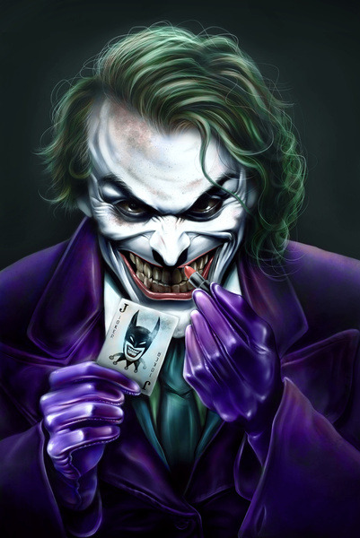 all-about-villains:  The Joker - by Alvinepps Prints available at Society6 (via:assorted-goodness)  Seen so much Joker artwork this week..and all super dope!