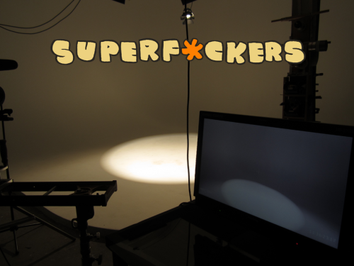 SuperF*ckers mystery shoot.  What's the deal with this?  Try and guess.  You'll probably guess wrong.  :)