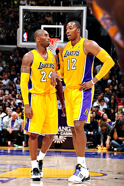 embracingmydarkside:  Kobe Bryant & Dwight Howard
