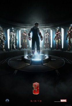 marvelentertainment:  Get excited, Iron Man fans, because we have the all-new poster for Iron Man 3! Don't' forget to check out the  full trailer tomorrow on iTunes Trailers!