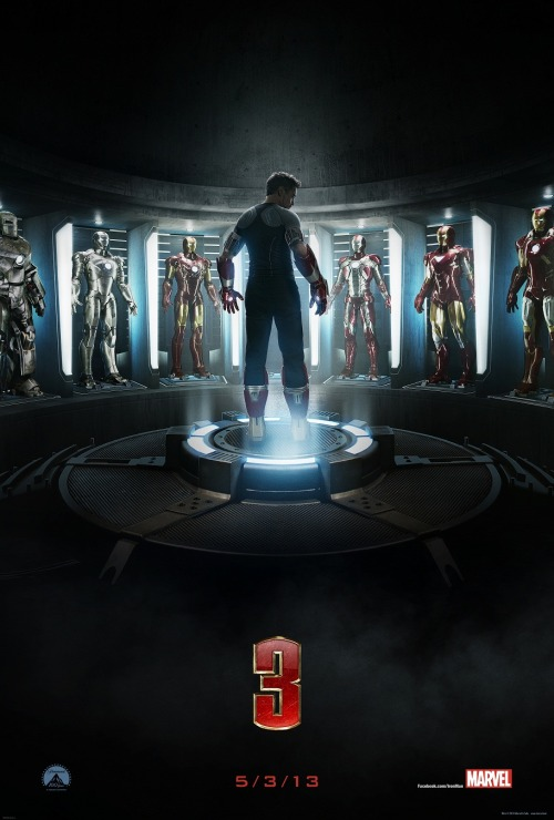 laughingsquid:  Iron Man 3 Trailer, Poster and Photos