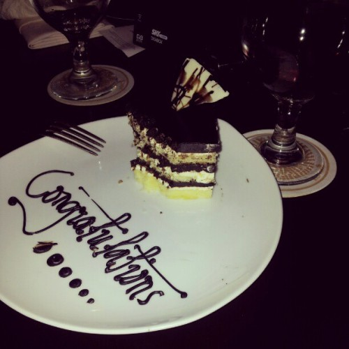 my surprise for him   (at acacia hotel)