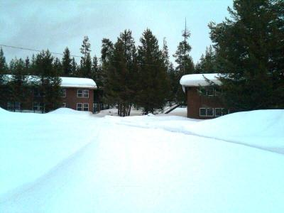Colter Bay employee dorms