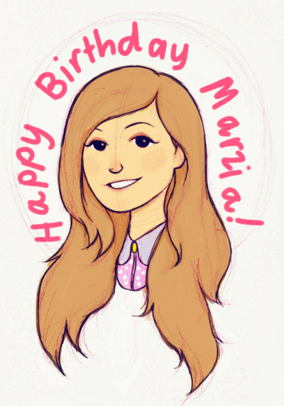 I know I'm late ;-; Happy Birthday Marzia!
