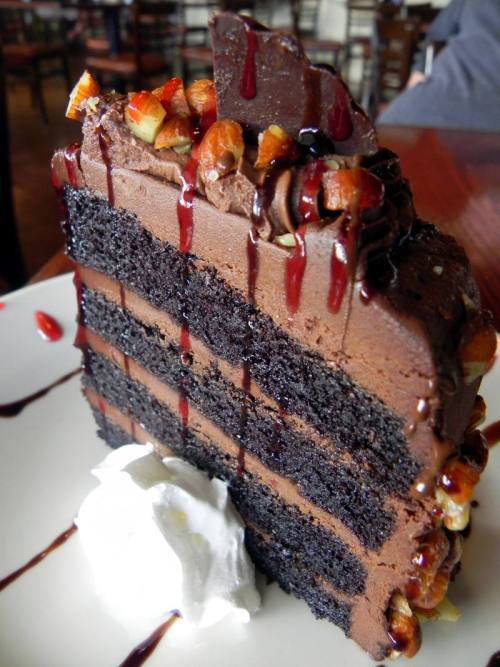 Huck's Chilled Choco Cake from HuckleBerry's Restaurant