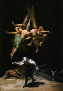 Witches in the Air, Goya