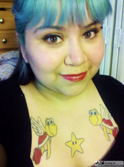 """MONDAY GAMER CHICKS TATTOO"" # 2 of 5"