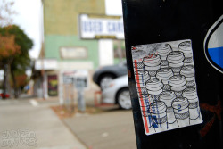 OHIO Sticker - Berkeley, CA on Flickr.Via Flickr: Daily Graffiti Photos and Street Art Publishing… www.EndlessCanvas.com Follow us… Facebook, Tumblr, YouTube, Twitter
