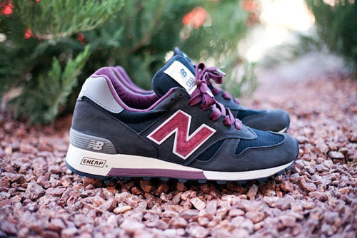 "New Balance 1300NB ""Grape""The New Balance recently made a buzz with the 1300 model thanks to the ""Salmon Sole"" release. The next NB 1300 colorway will not have any type of collaboration connection whatsoever. Dubbed ""Grape"", this 1300 is constructed with premium suede and mesh materials."