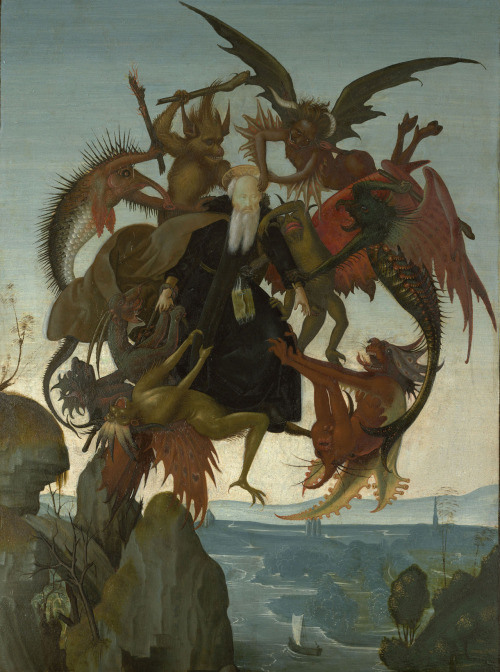 The Torment of Saint Anthony  I've had dreams like that