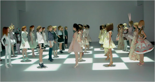 Reminiscing over Alexander McQueen's S/S 2005 runway and it's put us in the mood for game night. Get inspired by our little designer luxuries today!