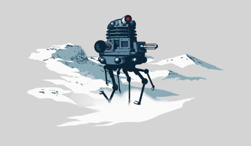 Geek Gear: Star Wars/Doctor Who 'Probe Dalek' Shirt